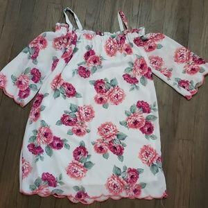 Floral Off-Shoulder Dress